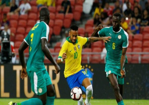 التعادل يحسم ودية البرازيل والسنغال بهدف لكل فريق