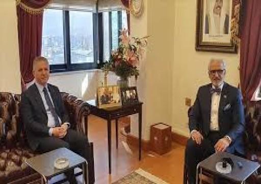 سفير الكويت يبحث وضع جمعيات إغاثة السوريين في أنقرة