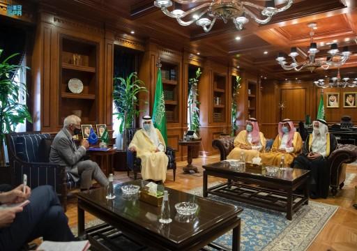 السعودية تبحث مع فرنسا والاتحاد الأوروبي حرب اليمن ونووي إيران