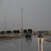هطول أمطار الخير على العين أعقبها انخفاض في درجات الحرارة