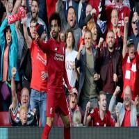 محمد صلاح يقود ليفربول لصدارة الدوري الانجليزي