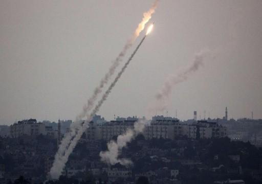 صاروخان من غزة يضربان جنوب إسرائيل وإصابات بالهلع