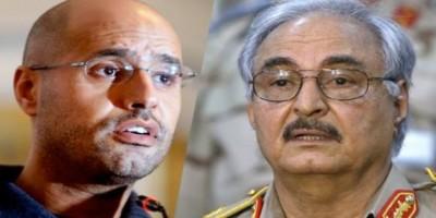 بتمويل إماراتي.. حفتر ونجل القذافي يستعينان بشركة استشارات إسرائيلية تحضيراً للانتخابات