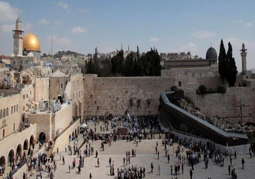 انهيارات قرب الأقصى بفعل الحفريات الإسرائيلية