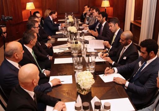 الإمارات وبريطانيا تتفقان على خطط عمل مشترك لزيادة التبادلات التجارية