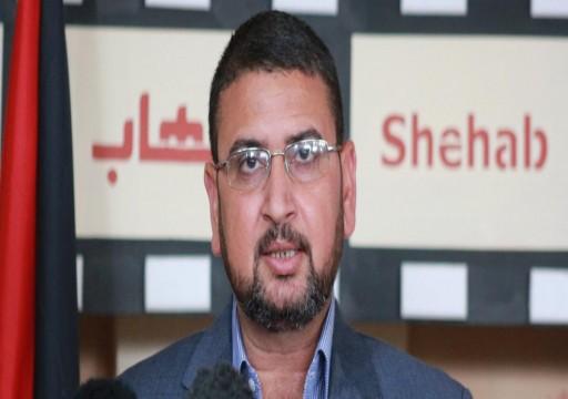 حماس: مشاركة وفد إسرائيلي في دبي تشجيع لجرائم الاحتلال