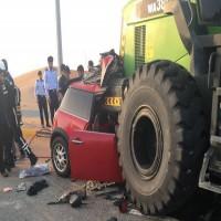 وفاة شابين مواطنين في حادث مروري بالشارقة
