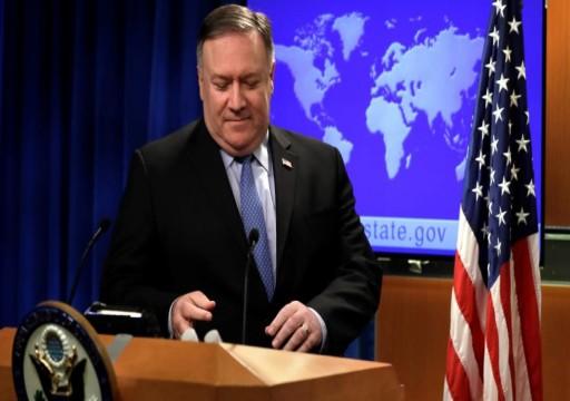 فورين بوليسي: بومبيو يسعي لجعل الانسحاب من سفارة بغداد دائم