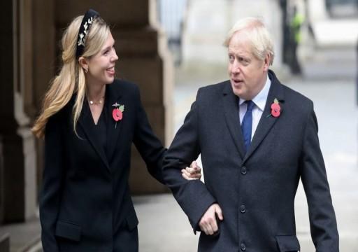 """في سرية تامة"""".. رئيس وزراء بريطانيا يتزوج خطيبته"""