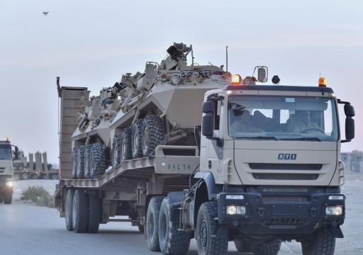 السعودية تدفع بتعزيزات عسكرية إضافية إلى حدودها مع اليمن