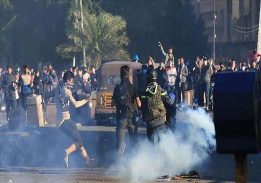 القوات العراقية تطلق الرصاص لتفريق محتجين في الكوت وبغداد