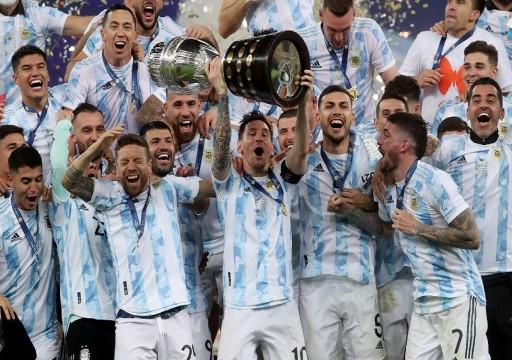 بقيادة ميسي.. الأرجنتين تهزم البرازيل وتفوز بكأس كوبا أمريكا