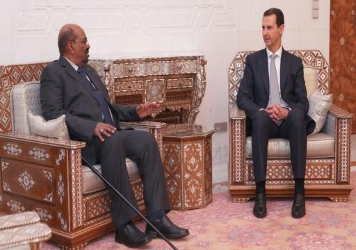 معلومات جديدة عن زيارة البشير لسوريا