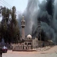 أكثر من 60 قتيلا في تفجيرين انتحاريين استهدفا مسجدا في نيجيريا