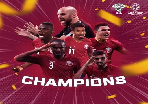 قطر تتوج بلقب كأس آسيا بثلاثية تاريخية في مرمى اليابان