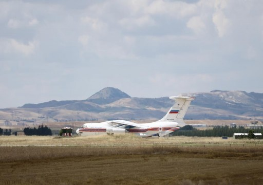 طائرة روسية رابعة تحمل أجزاء من أنظمة إس-400 تصل إلى أنقرة