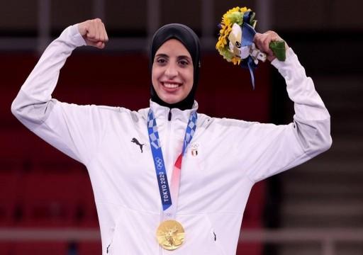 فريال عبد العزيز تمنح مصر أول ميدالية ذهبية في أولمبياد طوكيو