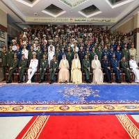 تكريم أوائل الدورة 27 من الضباط الخريجين في كلية القيادة والأركان