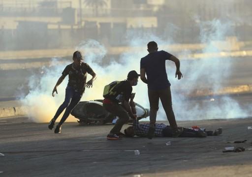 العفو الدولية تدعو السلطات العراقية لوقف حمام الدم خلال مواجهة المحتجين