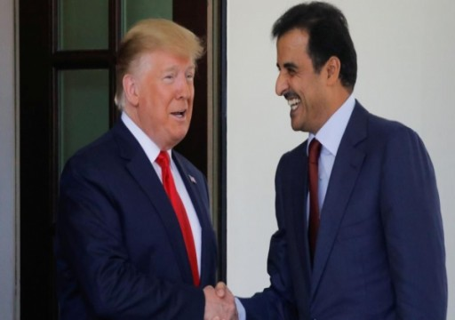 أمير قطر يناقش مع ترامب التطورات في أفغانستان