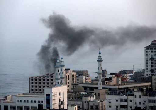 الاحتلال الإسرائيلي يشن غارات على موقع للمقاومة في غزة