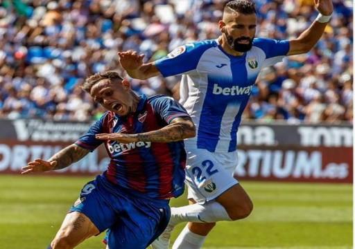 ليفانتي يحقق انتصاره الأول خارج الديار بالدوري الإسباني