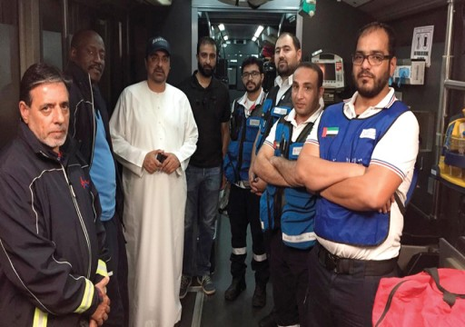 دبي.. إنقاذ 53 مريضاً تعرّضوا لأدخنة حريق في مستشفى خاص