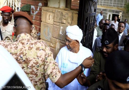 القضاء السوداني يرفض إعادة استجواب البشير