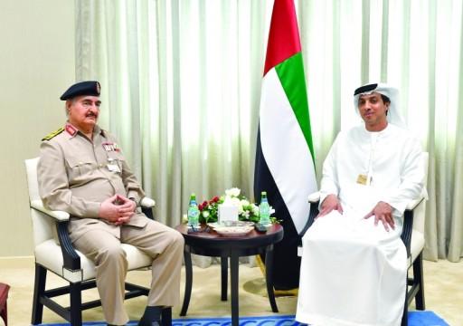 حكومة الوفاق الليبية تدعو ترامب لمنع الدعم الأجنبي لحفتر