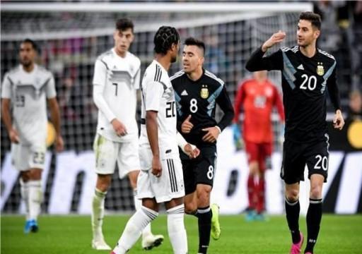 ألمانيا تهدر تقدمها بهدفين لتتعادل 2-2 مع الأرجنتين ودياً
