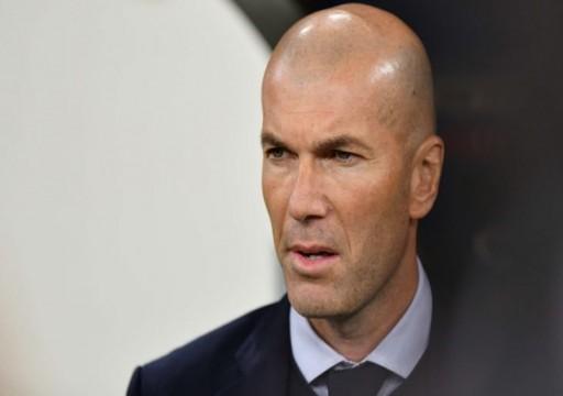 زيدان: ريال مدريد سيواجه مباراة صعبة وعلينا مواصلة التركيز