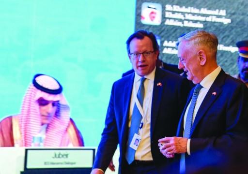 وزير خارجية البحرين: الناتو العربي يولد العام القادم