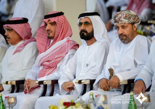 """محمد بن راشد يرعى ختام تمرين أمن """"الخليج العربي 2"""""""