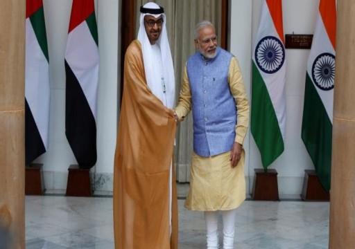 أبوظبي تقلد رئيس وزراء الهند أرفع وسام مدني على وقع أزمة كشمير