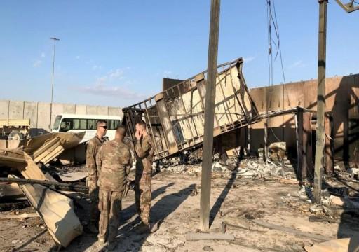 ارتفاع أعداد المصابين الأمريكيين بالهجوم الإيراني على قاعدة عين الأسد