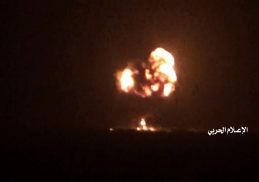 الحوثيون ينشرون فيديو يوثق لحظة إسقاط مقاتلة سعودية
