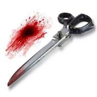 طالب يقتل صديقه طعناً بمقص في رقبته