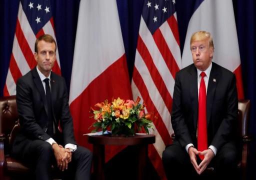 ترامب: اقتراح ماكرون إنشاء جيش أوروبي لمواجهتنا مهين جدا