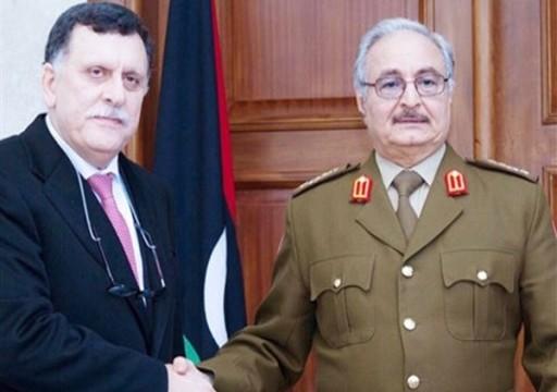 لقاء مرتقب بين حفتر والسراج في أبوظبي على وقع الصراع حول النفط