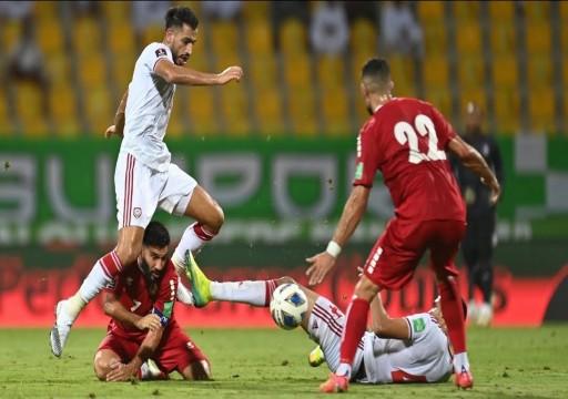 """منتخب لبنان يعرقل مسيرة """"الأبيض"""" في مستهل مشواره نحو كأس العالم 2022"""