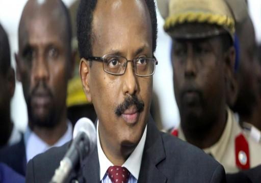الرئيس الصومالي يتهم المعارضة بتقويض النظام في البلاد