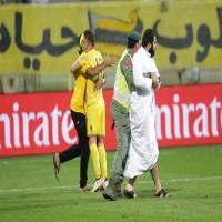تغريم الوصل 100 ألف درهم بسبب دخول جمهوره الملعب