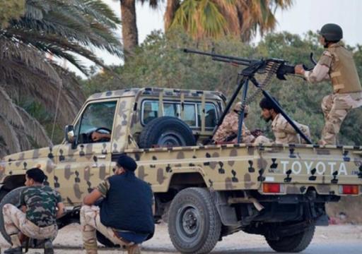 ليبيا.. قوات الوفاق تشن هجوم من ثلاثة محاور لاستعادة مطار طرابلس