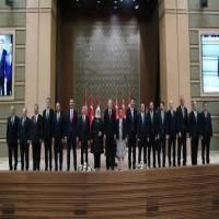 أردوغان يعلن تشكيلة حكومته الجديدة عقب انتقال تركيا للنظام الرئاسي