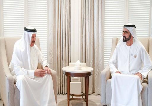 محمد بن راشد يستقبل الزياني ويتلقى دعوه لحضور قمة التعاون الخليجي