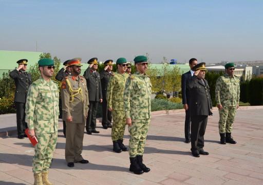 الحرس الوطني الكويتي يبحث التعاون العسكري مع تركيا