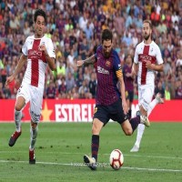 برشلونة يعاقب هويسكا بثمانية أهداف في الجولة الثالثة من الليجا