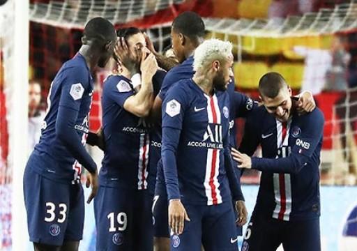 باريس سان جيرمان يسحق موناكو ويعزز صدارته للدوري الفرنسي
