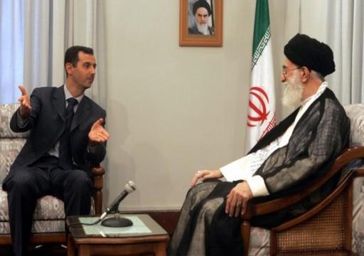 مسؤول برلماني إيراني يطالب نظام الأسد بسداد الديون المترتبة عليه