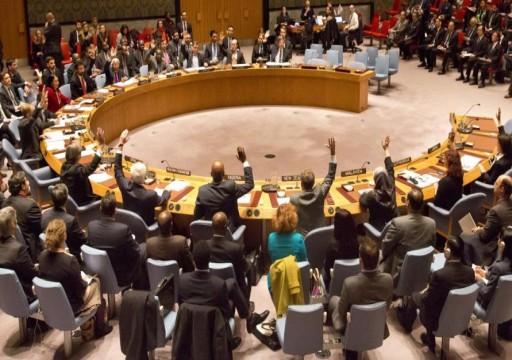 مجلس الأمن قلق من مخاطر تدهور الوضع الإنساني في شمال شرق سوريا